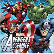 Napkins - Avengers - Large - Paper - 2Ply - 16ct - 13 X 13 in