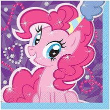 Napkins - My Little Pony - Large - Paper - 2Ply - 16ct - 13 X 13 in