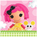 Napkins - Lalaloopsy - Large - Paper - 2Ply - 16ct - 13 X 13 in