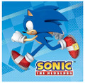 Napkins - Sonic the Hedgehog - Large - Paper - 2Ply - 16ct - 13 X 13 in