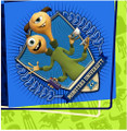 Napkins - Monster University - Large - Paper - 2Ply - 16ct - 13 X 13 in
