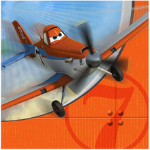 Napkins - Planes - Large - Paper - 2Ply - 16ct - 13 X 13 in