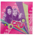 Napkins - iCarly - Large - Paper - 2Ply - 16ct - 13 X 13 in