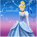 Napkins - Cinderella - Large - Paper - 2Ply - 16ct - 13 X 13 in