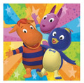 Napkins - Backyardigans - Large - Paper - 2Ply - 16ct - 13 X 13 in