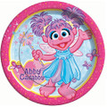 Plates - Abby Cadabby - Large - 9 in - Paper - 8ct
