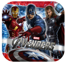 Plates - Avengers - Large - 9 in - Paper - 8ct