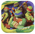 Plates - Ninja Turtles - Small - 7 in - Paper - 8ct