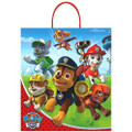 "TOT Treat Bag - Paw Patrol - Large 15"" X 13"" - Plastic"