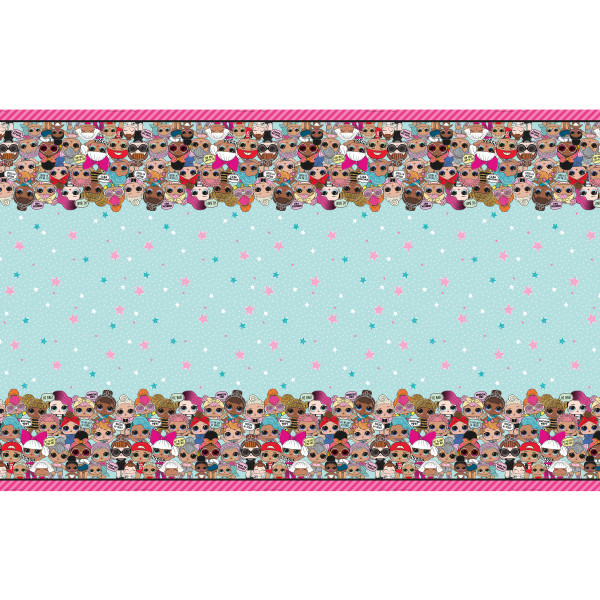 """Party Supplies - LOL Surprise - Table Cover - 54"""" X 84"""""""