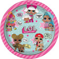 "Party Supplies - LOL Surprise - Plates - Large 9"" - Paper - 8ct"