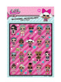 Party Favors - LOL Surprise - Sticker Sheets - 4ct