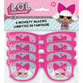 Party Favors - LOL Surprise - Pinhole Glasses - Plastic - 4ct
