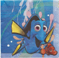 Napkins - Finding Dory - Large - Paper - 2Ply - 16ct - 13 X 13 in
