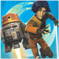 Napkins - Star Wars Rebels - Large - Paper - 2Ply - 16ct - 13 X 13 in
