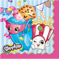 Napkins - Shopkins - Large - Paper - 2Ply - 16ct - 13 X 13 in