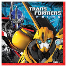 Napkins - Transformers Prime - Large - Paper - 2Ply - 16ct - 13 X 13 in