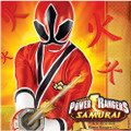 Napkins - Power Rangers Samurai - Large - Paper - 2Ply - 16ct - 13 X 13 in