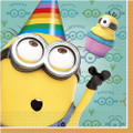 Napkins - Despicable Me - Large - Paper - 2Ply - 16ct - 13 X 13 in