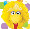Napkins - Big Bird - Large - Paper - 2Ply - 16ct - 13 X 13 in