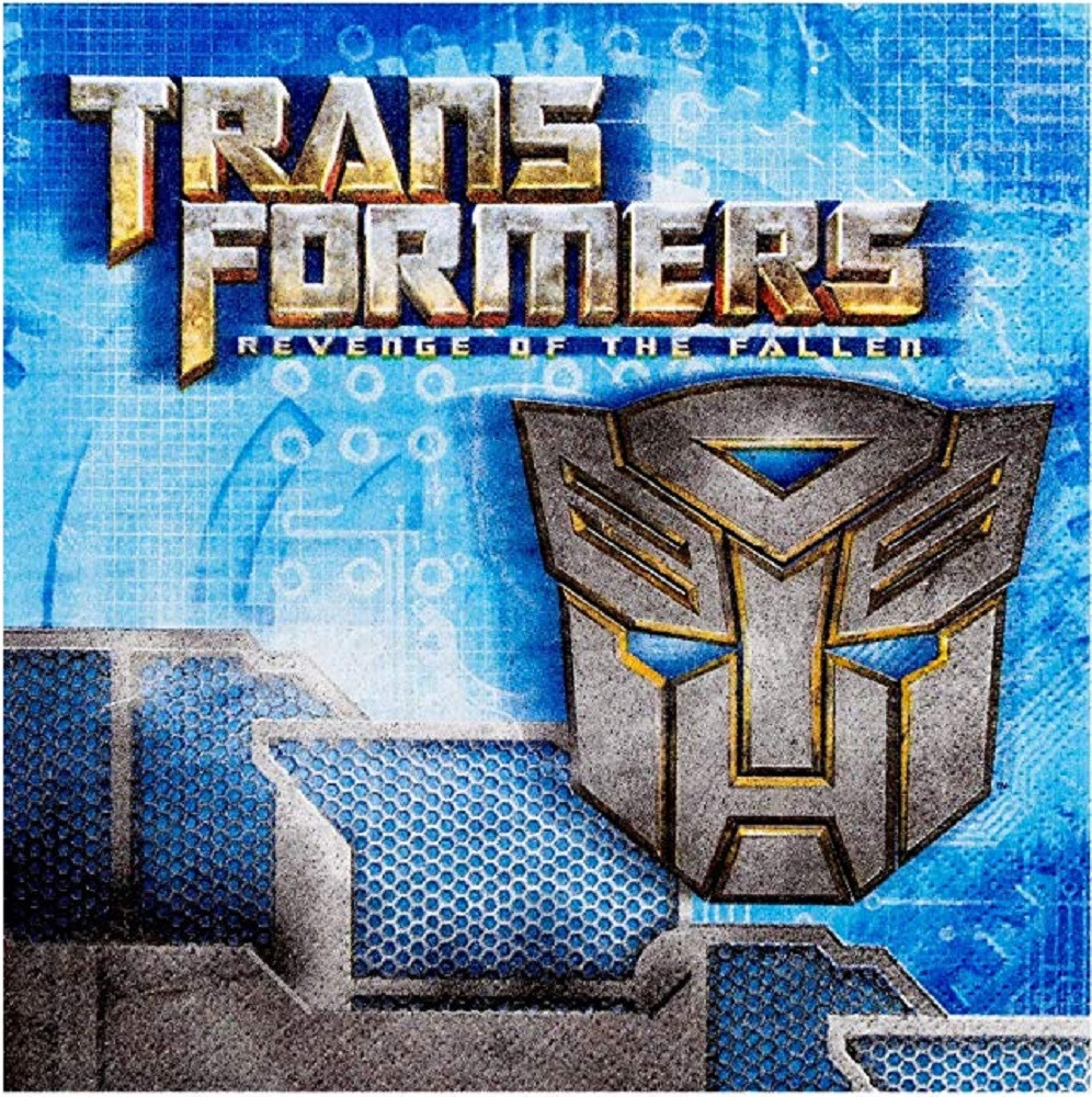 Napkins - Transformers ROTF- Large - Paper - 2Ply - 16ct - 13 X 13 in
