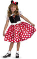 Costume - Mickey Mouse Clubhouse - Minnie Mouse Red - Kids - Size Toddler - Size XS
