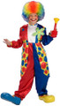 Costume - Clown - Bubbles the Clown - Kids - Size Small - Size 4-6 - Ages 3-4 Years