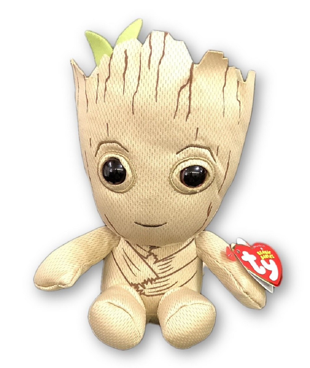 Plush Toy - Groot - Beanie Baby - 8 Inch