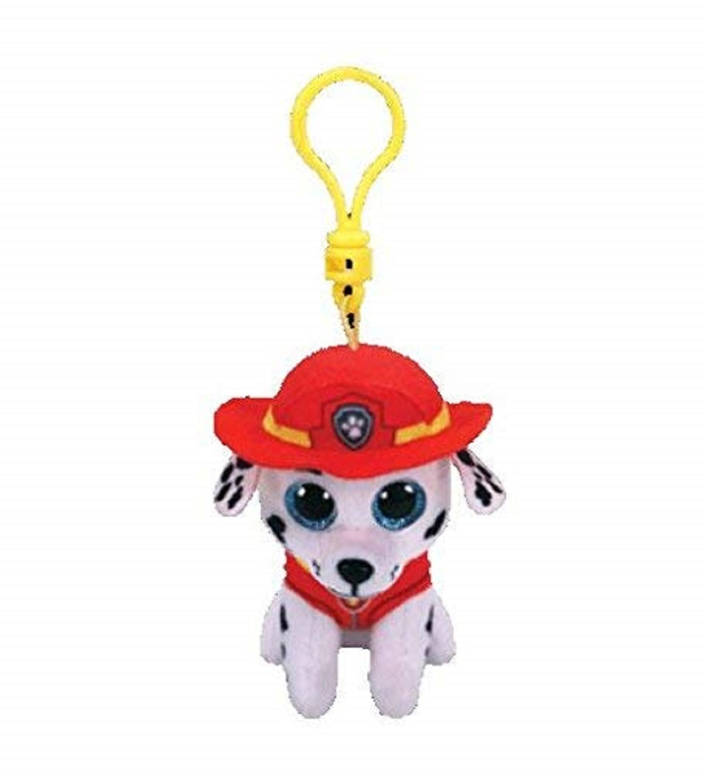 Plush Clip On - Paw Patrol - Marshall - 3in - Beanie Boo