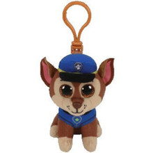 Plush Clip On - Paw Patrol - Chase - 3in - Beanie Boo