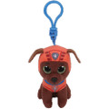 Plush Clip On - Paw Patrol - Zuma - 3in - Beanie Boo
