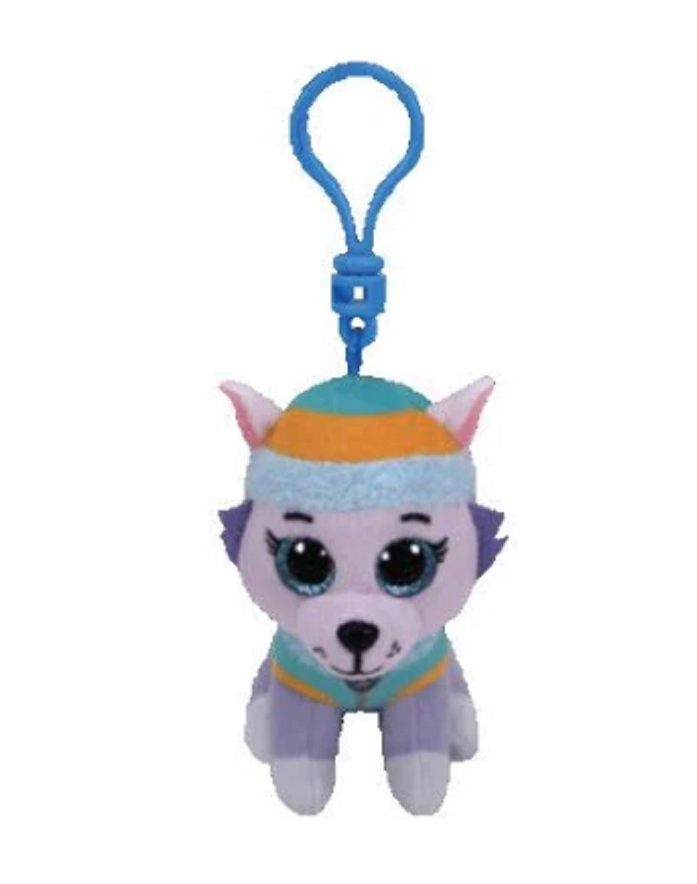 Plush Clip On - Paw Patrol - Everest - 3in - Beanie Boo