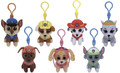 Plush Clip On - Paw Patrol - Pack of 7 - 3in - Beanie Boo Bundle