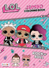 LOL Surprise - Coloring and Activity Book - 64p
