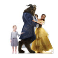 Belle and Beast (Disney Beauty and the Beast Live Action) - Cardboard Cutout
