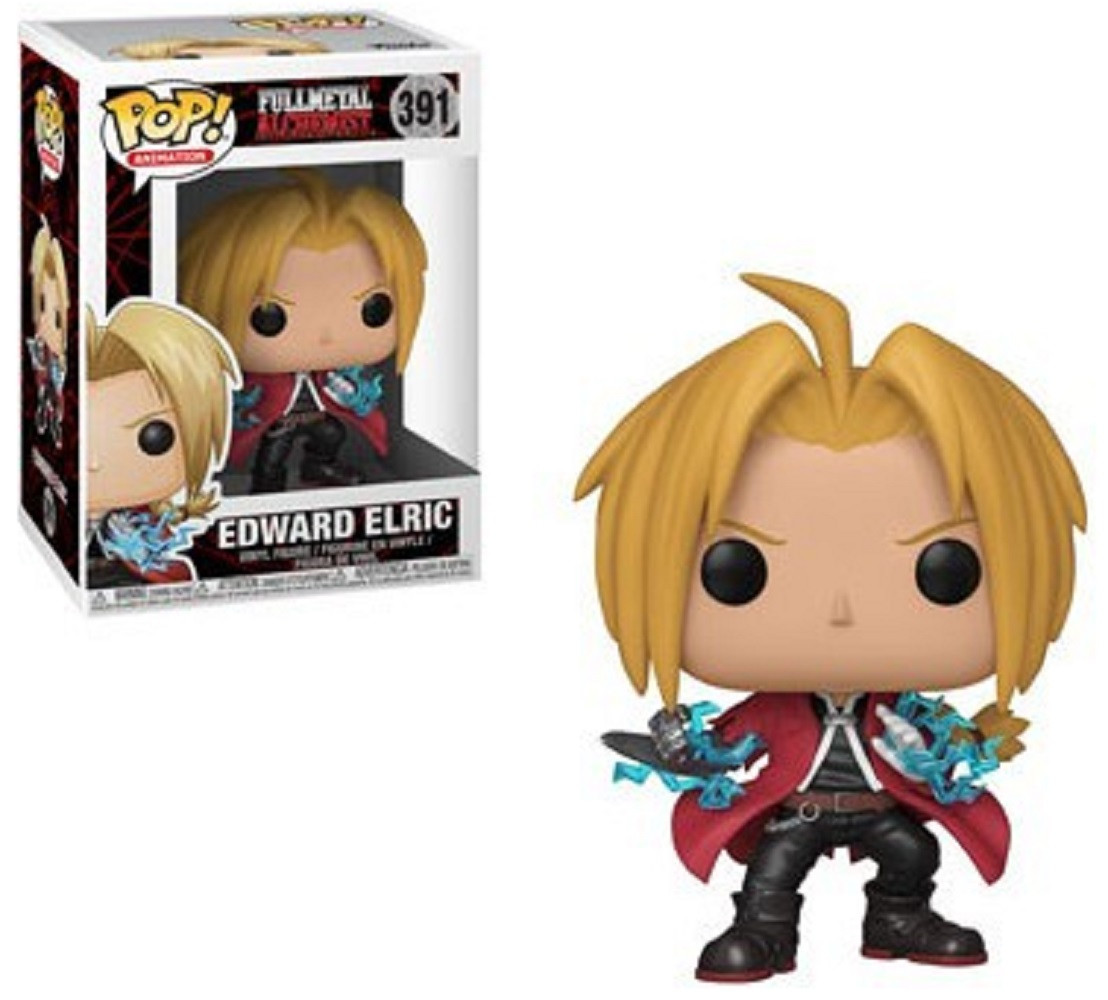 Funko POP - Full Metal Alchemist - Edward Elric - Vinyl Collectible Figure