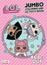 Coloring Book - LOL Surprise - Coloring and Activity Book - 64p - Act It Out