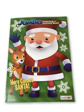 Coloring Book - Holiday - Coloring and Activity Book - 64p - Here Comes Santa
