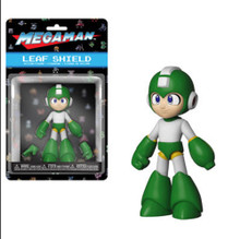 Action Figure - Mega Man - Leaf Shield - 5 Inch