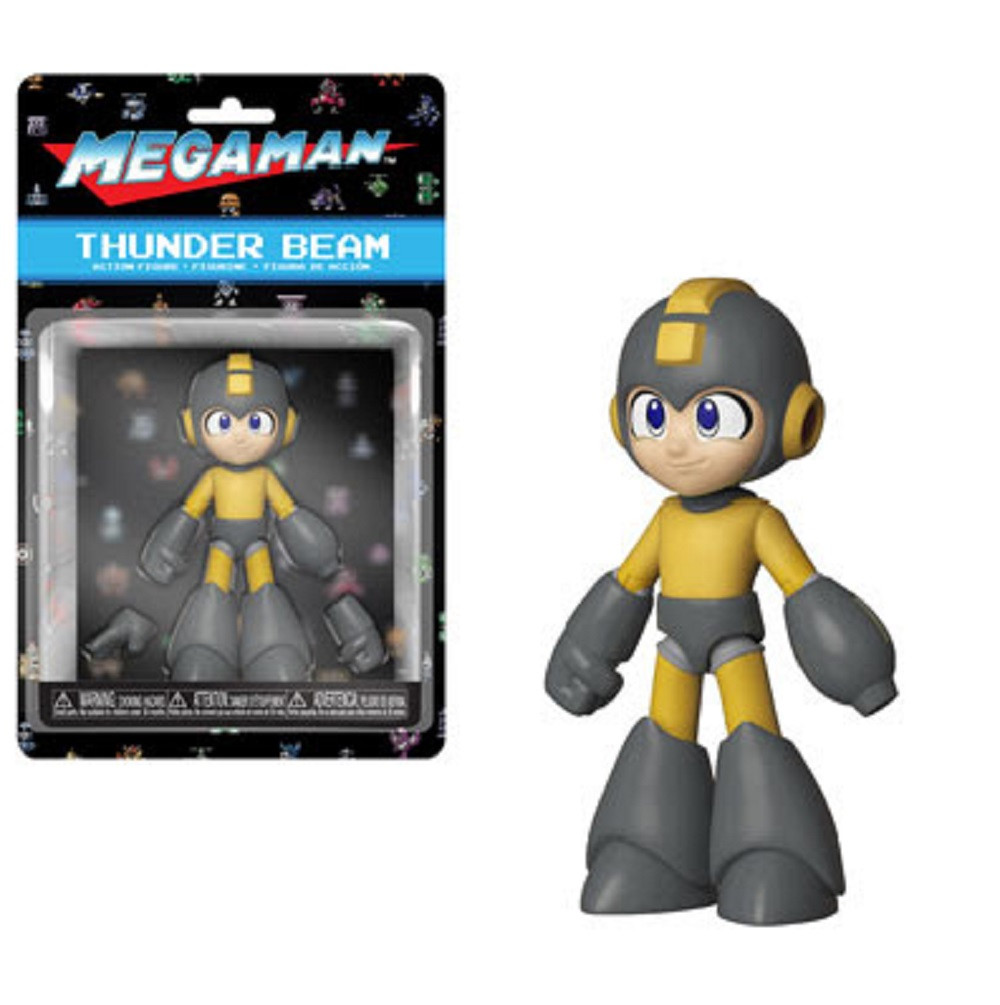 Action Figure - Mega Man - Thunder Shield - 5 Inch