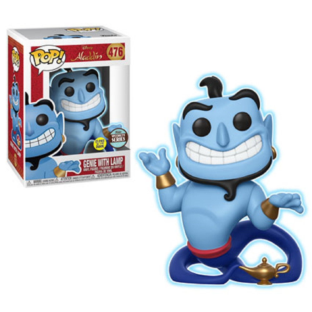 Funko POP - Aladdin - Genie w Lamp - Specialty Series Exclusive - Glow In The Dark