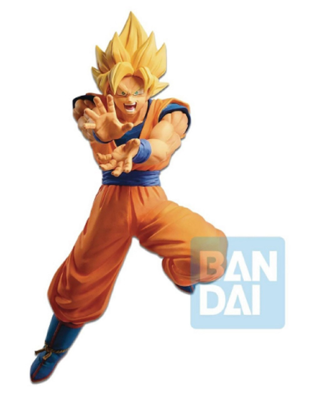 Dragon Ball Z - The Android Battle - w Dragon Ball Fighterz Super Saiyan Son Goku Figure - 7.5 Inch