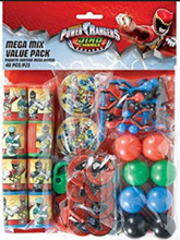Power Rangers - Mega Mix Value Pack - 48pc Set - Dino Charge