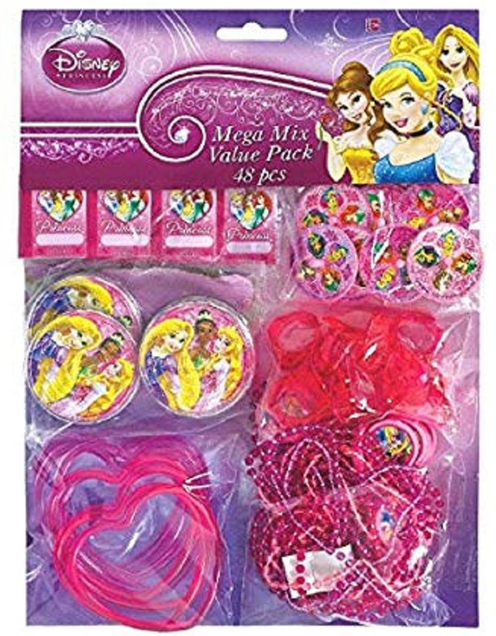 Princess (Sparkle) - Mega Mix Value Pack - 48pc Set