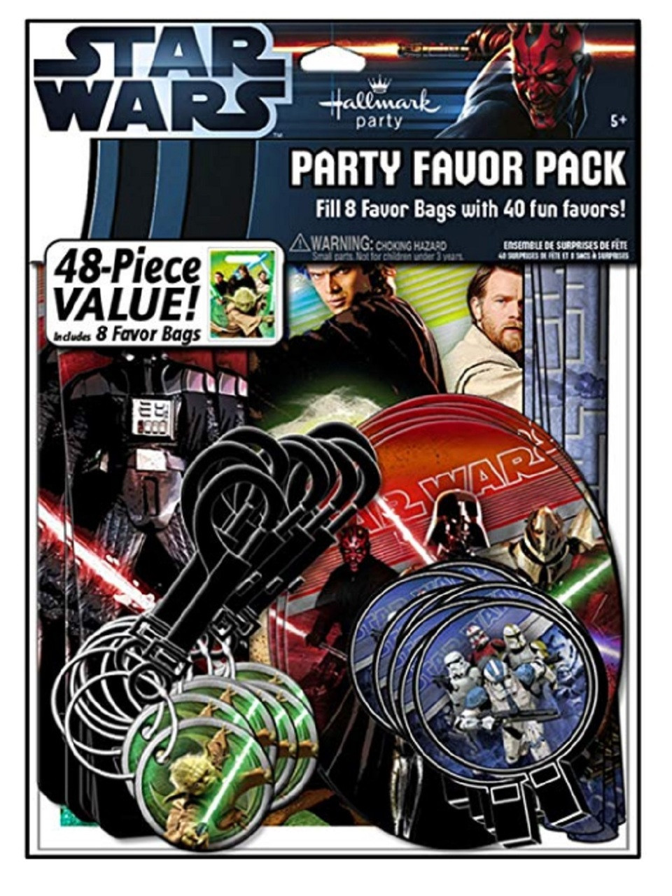 Party Favors - Star Wars - Value Pack - 48pc Set
