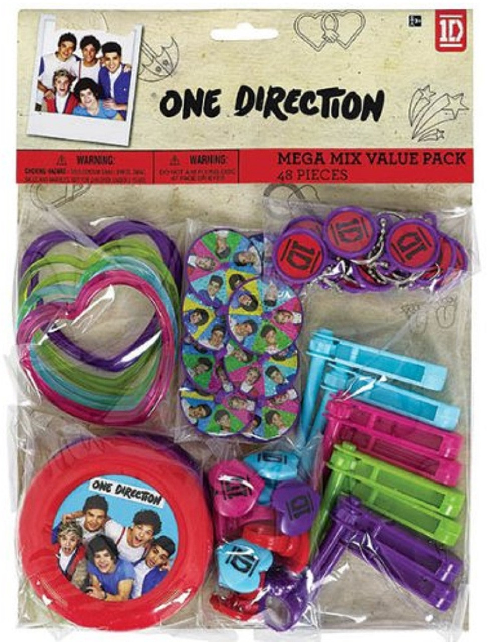 One Direction - Value Pack - 48pc Set