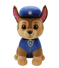 Plush Toy - Paw Patrol - Chase - Large TY Beanie Boos