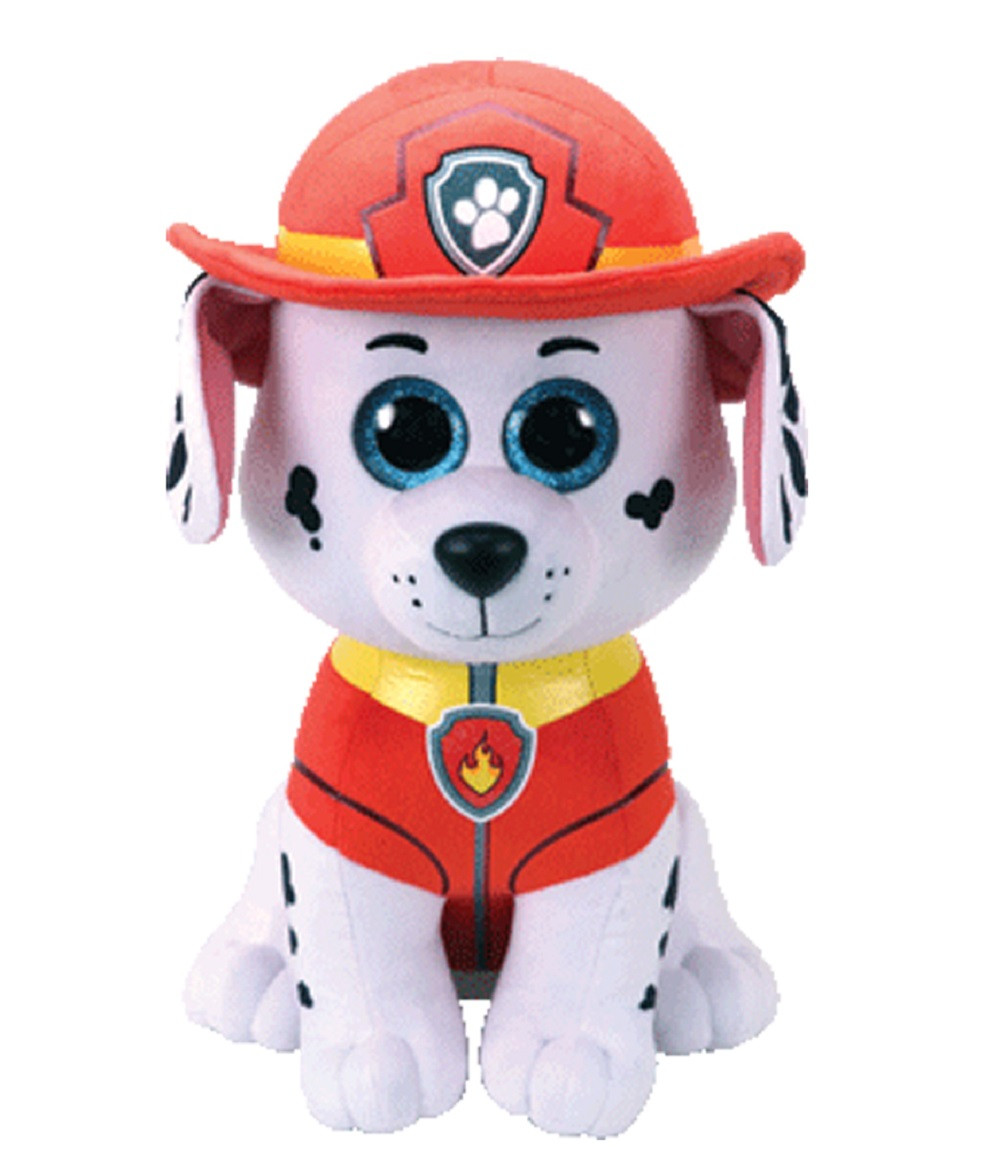 Plush Toy - Paw Patrol - Marshall - Large TY Beanie Boos