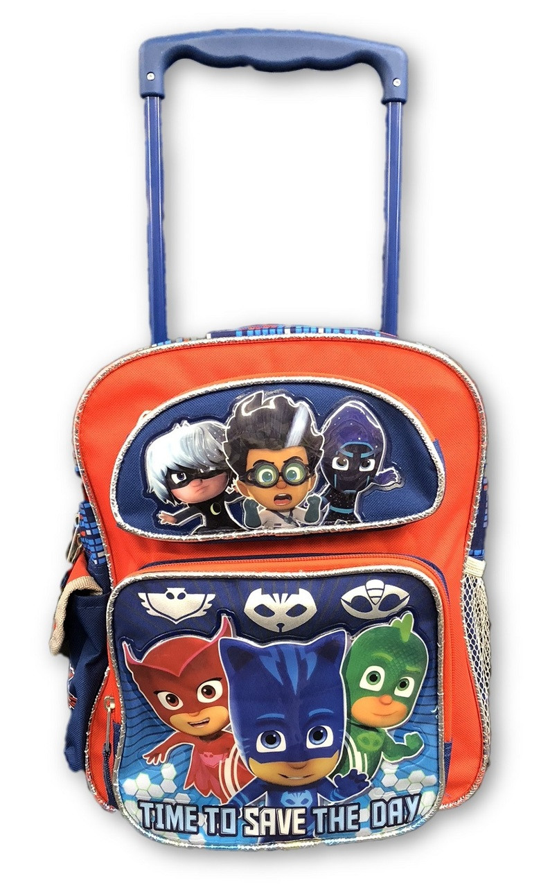 PJ Masks - Rolling Backpack - 12 Inch Small