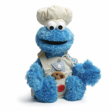 Plush Toy - Cookie Monster - Teach Me Cookie Monster - 16 Inch